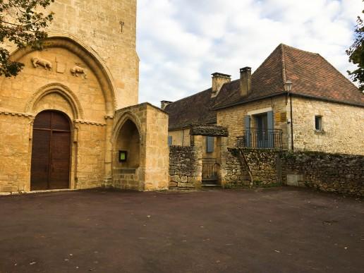 Cabinet de vitrac / église