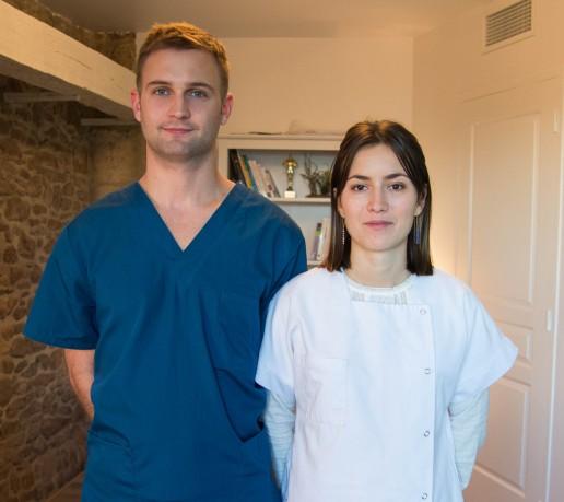 Marcellin gorry et marie sauvage ostéopathe à vitrac et carlux